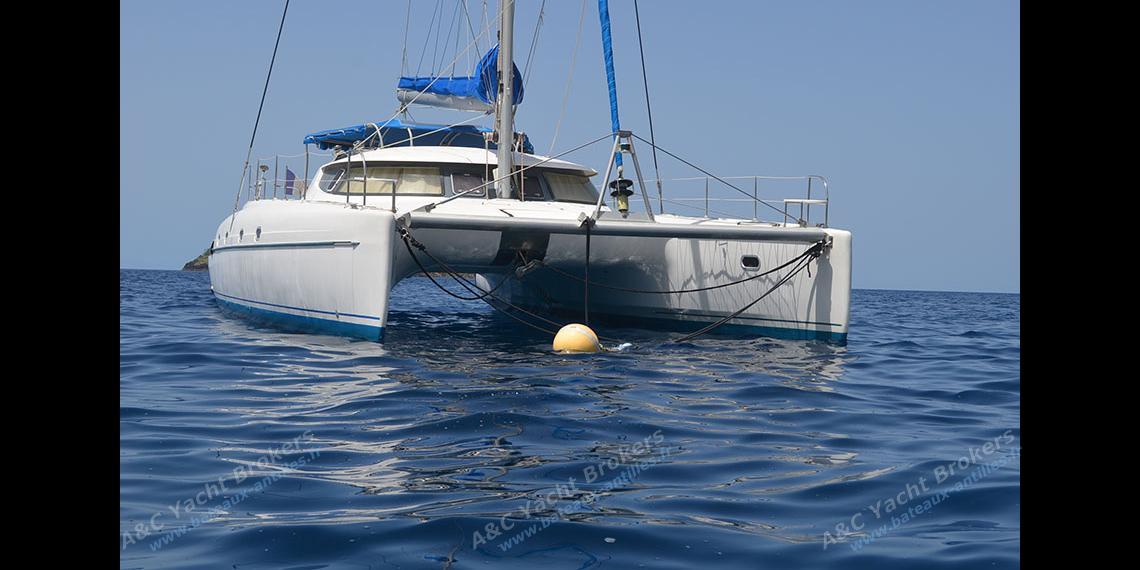 Fountaine Pajot Bahia 46 :Guadeloupe anchorage